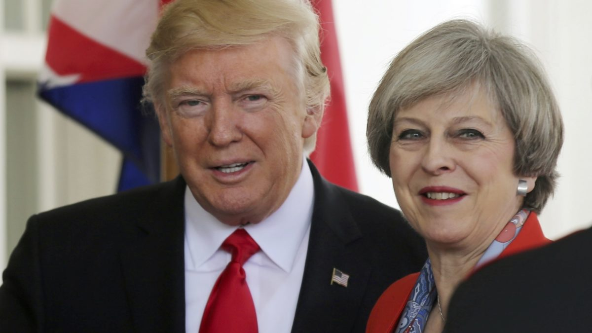 Donald Trump & Theresa May: BFF's Forever?