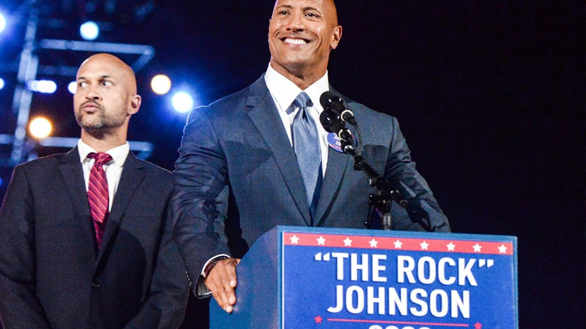 Dwayne 'The Rock' Johnson for President 2020