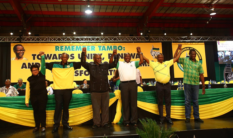 The ANC Elects It's New Leader