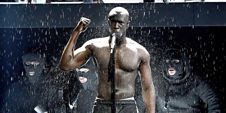 Stormzy's Message To Theresa May