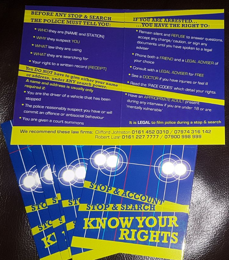 """""""Know Your Rights--- Stop and Search"""" Practical Training ..."""