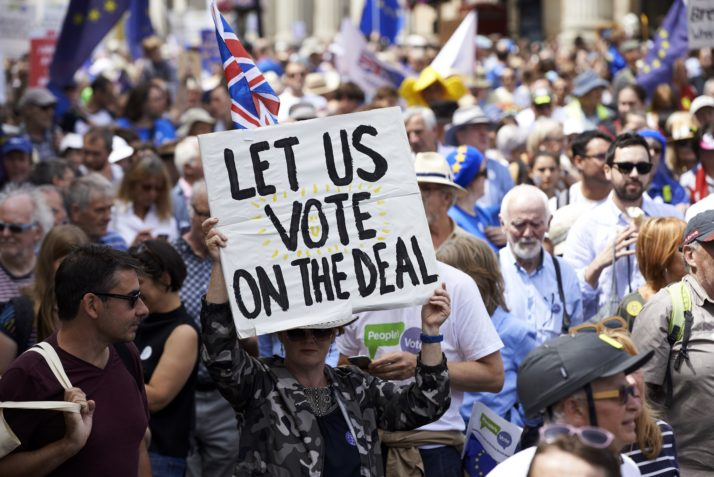 The final say: is a second Brexit referendum on the cards?