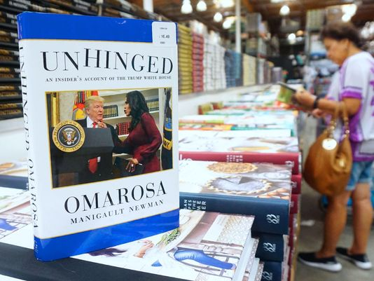 Omarosa Sparks Trump Anger With Tell-All Book