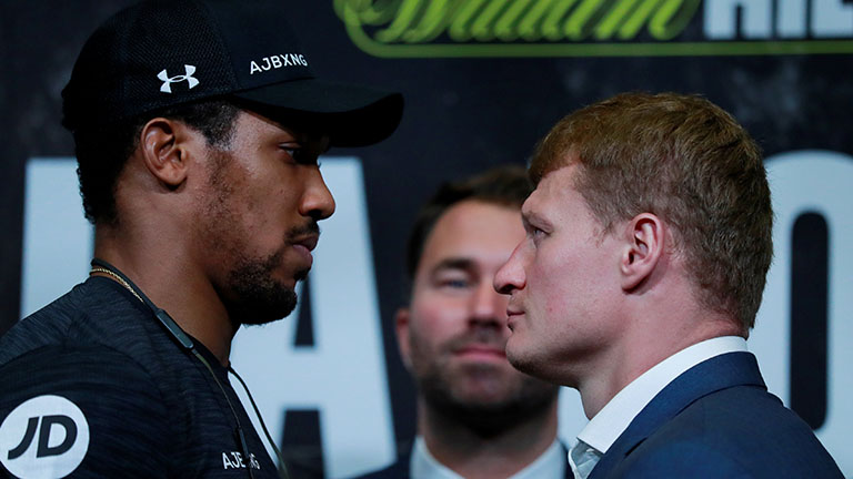 Joshua v Povetkin: Who Will Win?