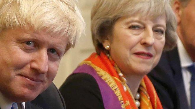 Boris Johnson Attacks Theresa May…Again!