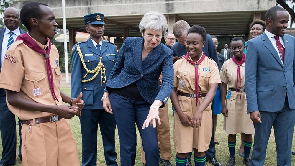 May The Dance Be With You: Theresa May Rebuked In Kenya
