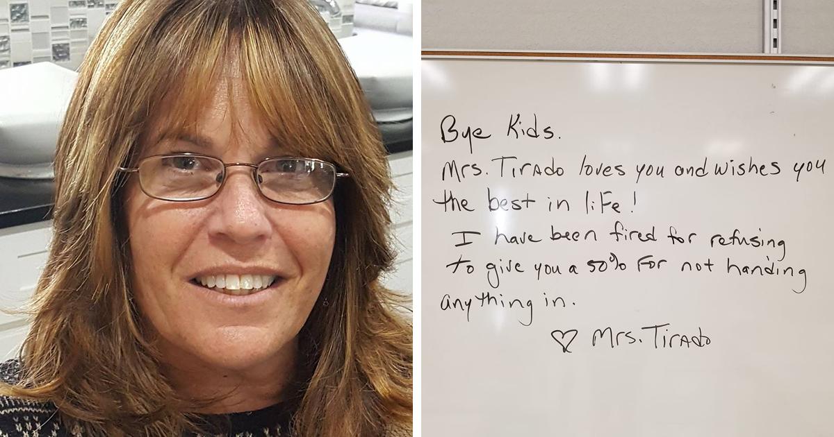 """Florida teacher fired over """"no-zero"""" grade policy"""