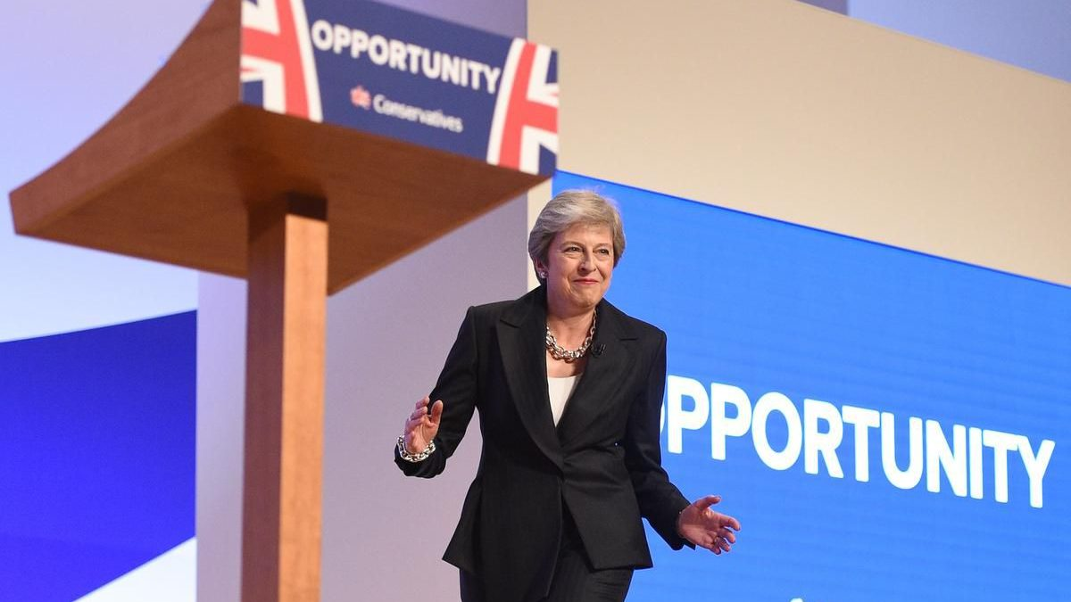 """Theresa May: """"Austerity is over"""""""