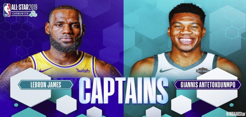 2019 NBA All-Star Starters: How the fans, players and media voted