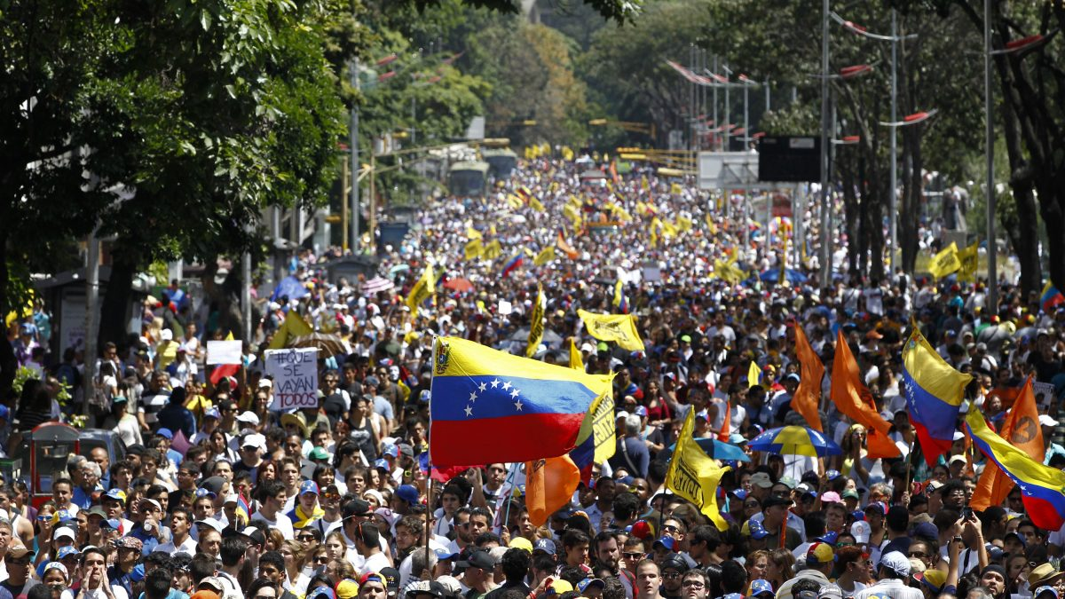 Trump's Call For Venezuela Intervention: A Neo-Imperialist Echo of the Past?