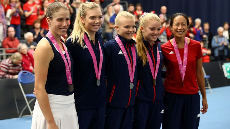 Can Team GB go all the way in the Fed Cup?