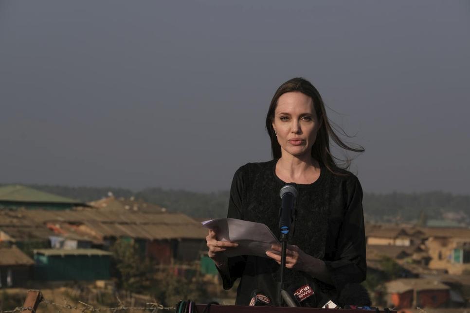 Beyond Celebrity Tweets: Angelina Jolie and The UN