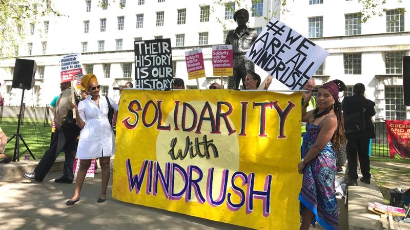 'Once Enslaved Then Colonised. And Now Repatriated': The Windrush Deportations