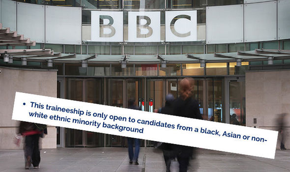 BBC Radio Traineeship accused of discrimination against white people