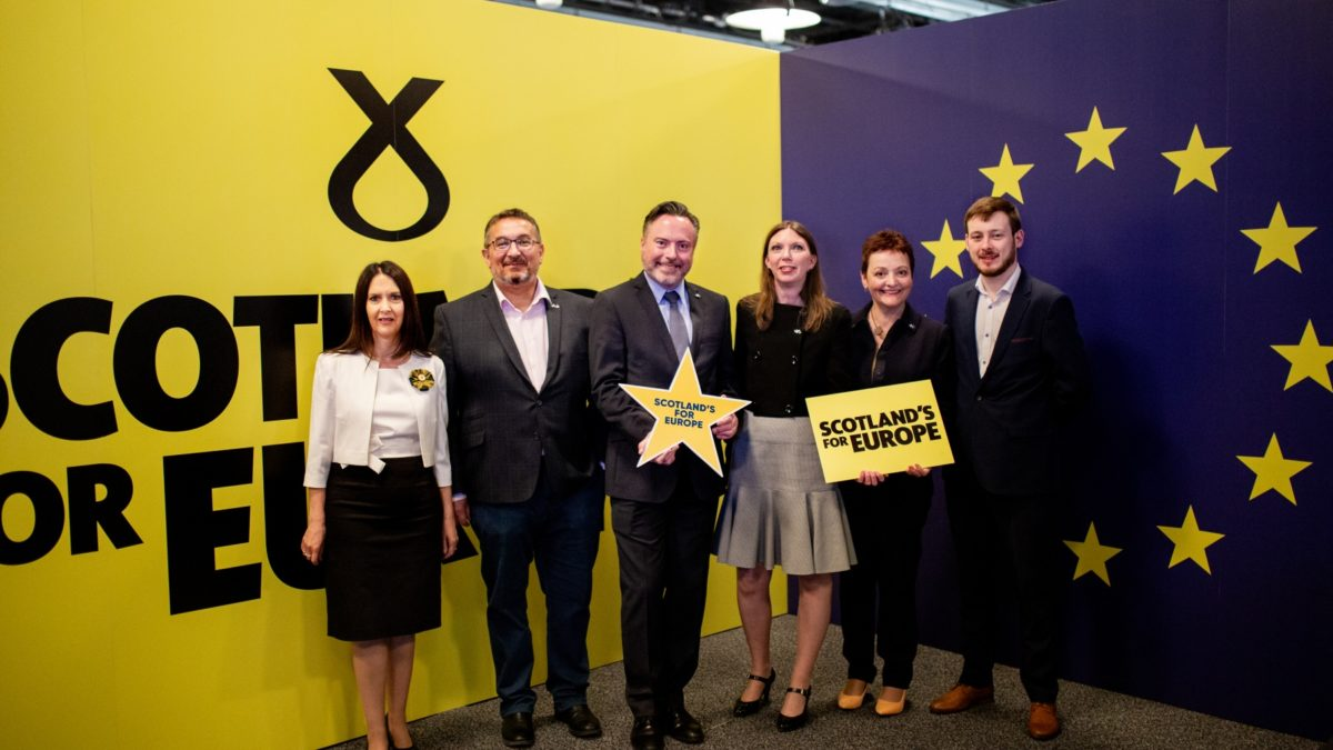 Scotland Shows It's EU Colours with SNP Landslide