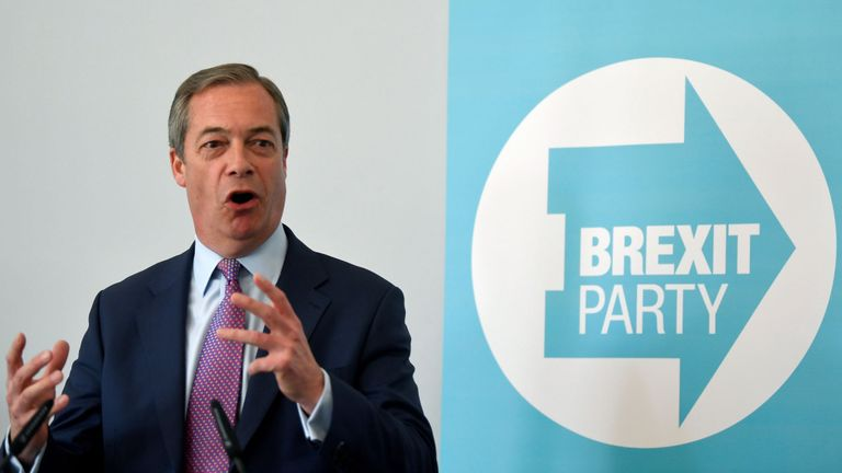 Electoral Commission to review Brexit Party's funding