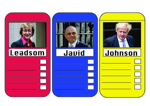 Tory Top Trumps: Some of the big names in the running for the next PM