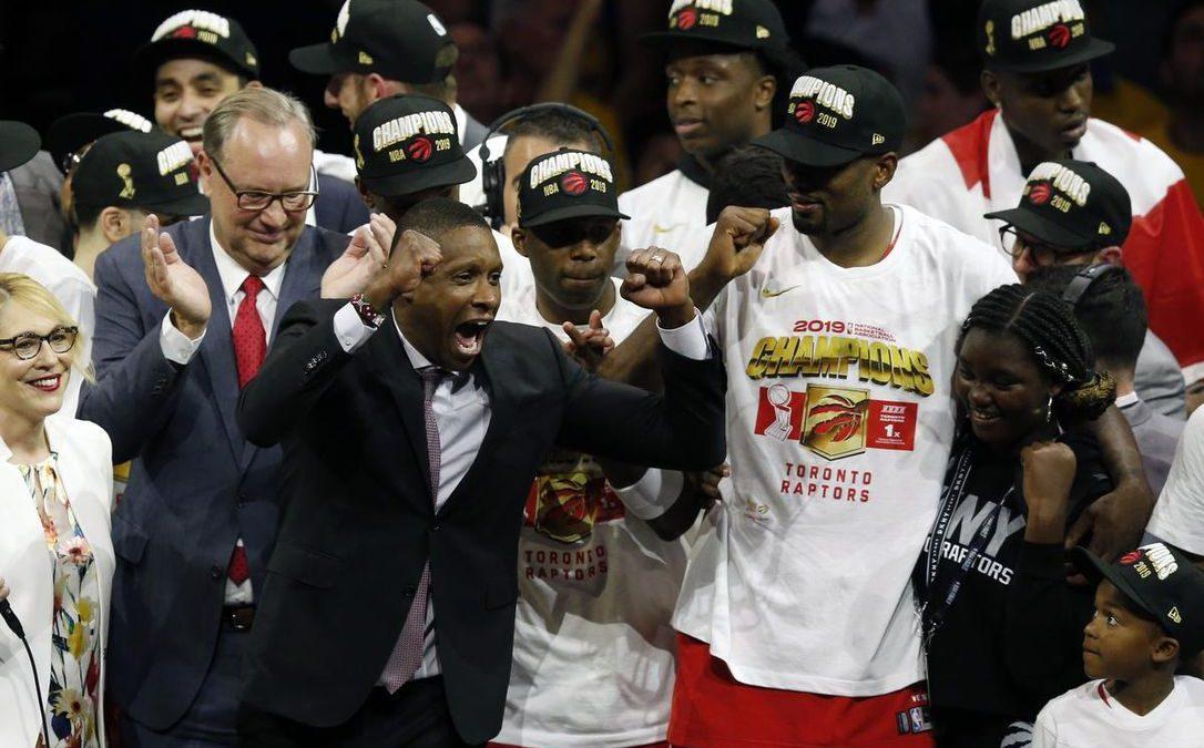 The Raptors take the throne: America's Champions