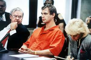 Jeffrey Dahmer during his trial in