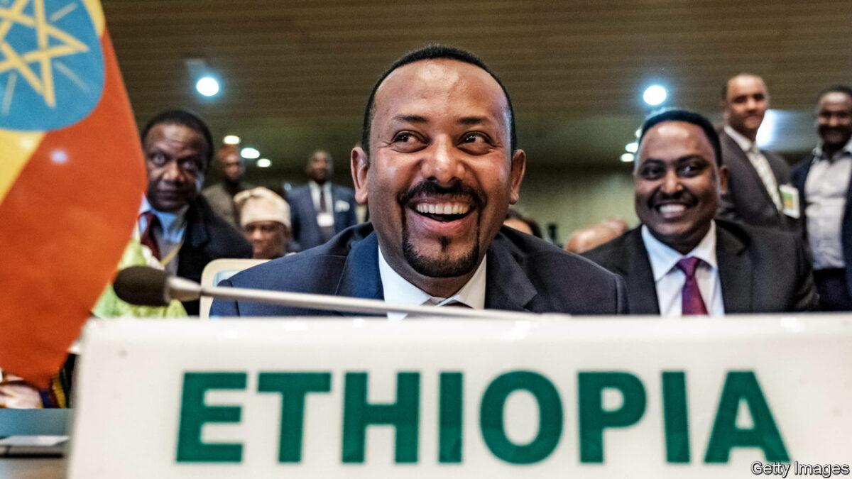 A Nobel Peace Prize Won By Ethiopian PM