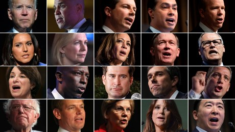 Image result for diversity in 2020 candidates