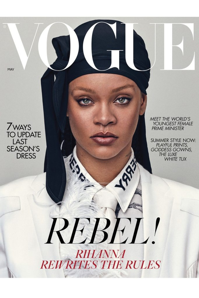 Rihanna makes British Vogue history wearing durag on cover | The ...